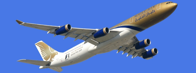 Take Off: Gulf Air